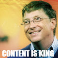 Bill Gates - Content is King 1996