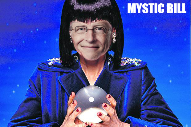 Mystic Bill Gates - fortune teller