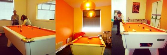 Silkstream Office Games Room