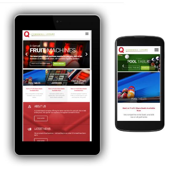 Q-Cornwall Mobile Web Design