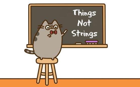 Things Not Strings