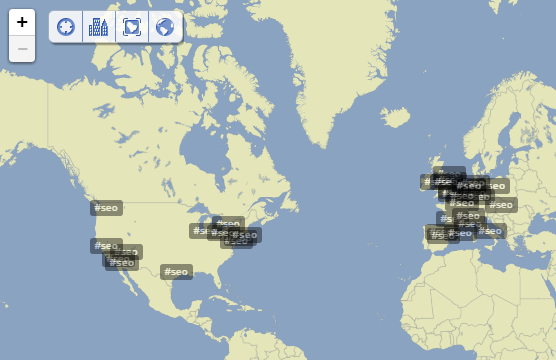 Trendsmap Hashtag Research