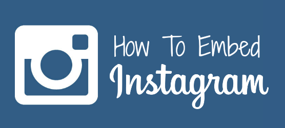 How To Embed Instagram
