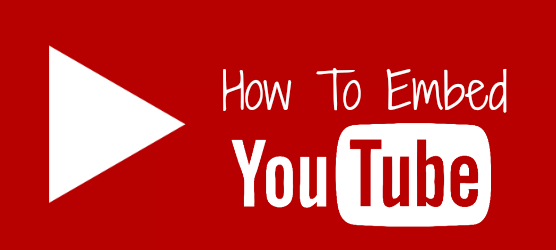 How To Embed YouTube