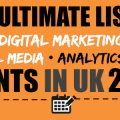 The Ultimate List of SEO Events in UK 2016