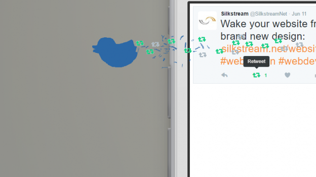 Twitter Retweet Banner