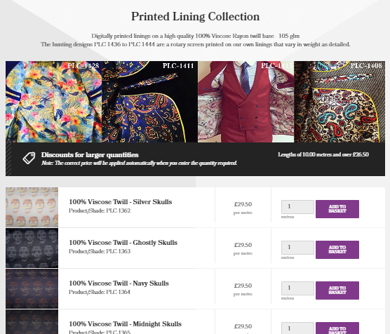 The Lining Company Subsubcategory Design