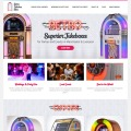 Retro Jukebox Hire web design