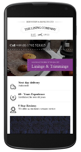 The Lining Company mobile