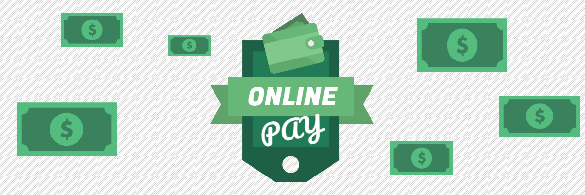 Accepting payments online header