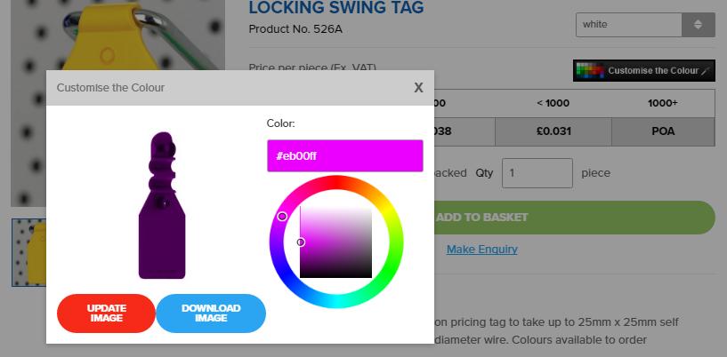 ESP Display Colour Picker