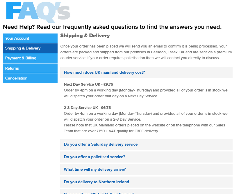 ESP Display FAQ Design