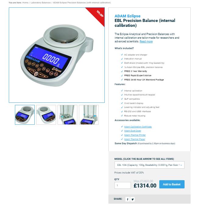 Braymont UK Product Page Design