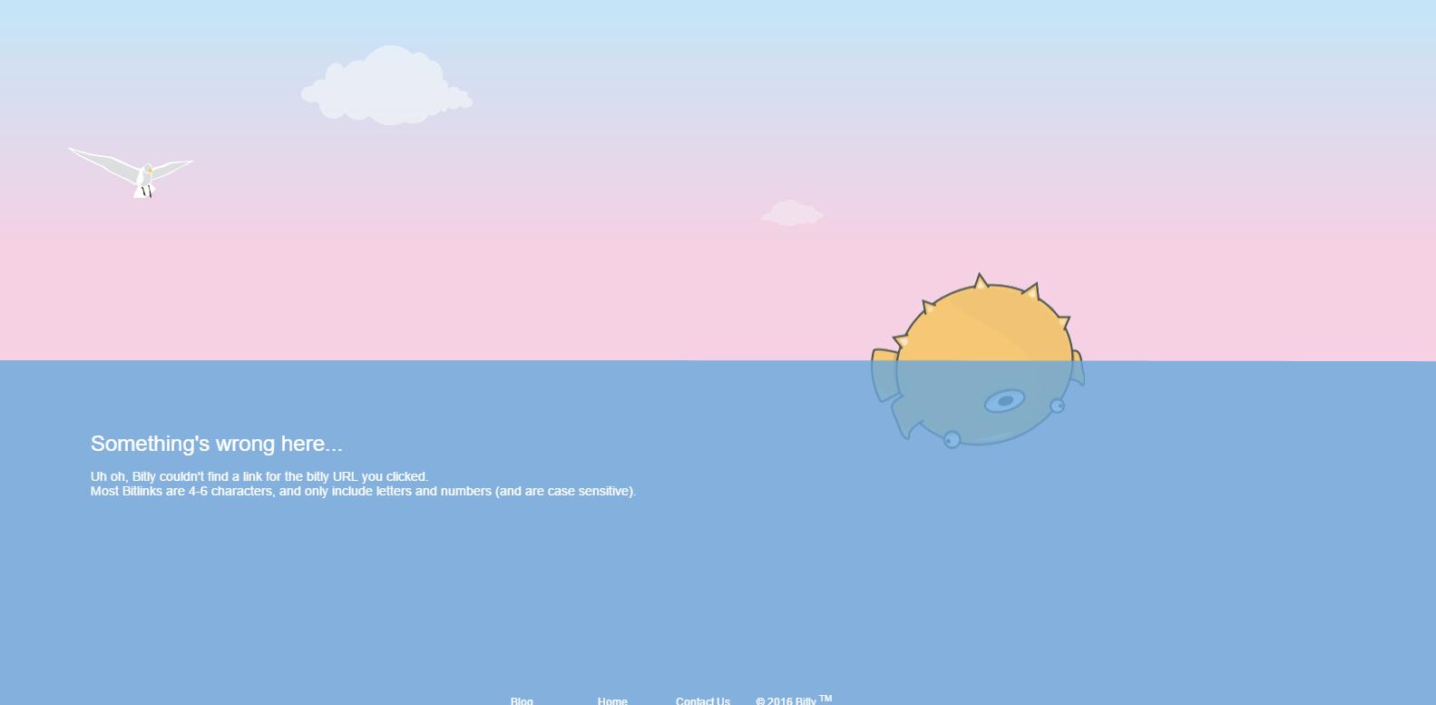 Bitly 404 page