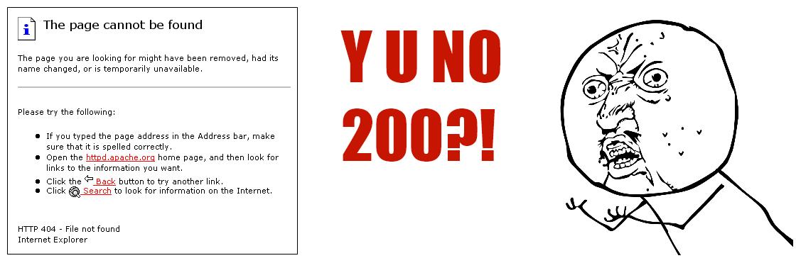 404 Error Meme