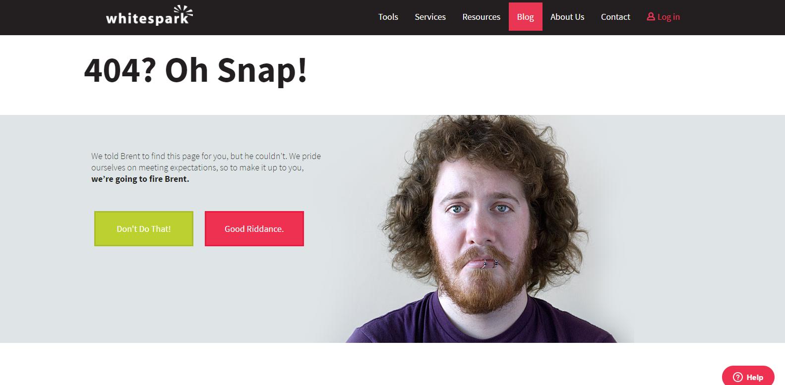 Whitespark's 404 Page