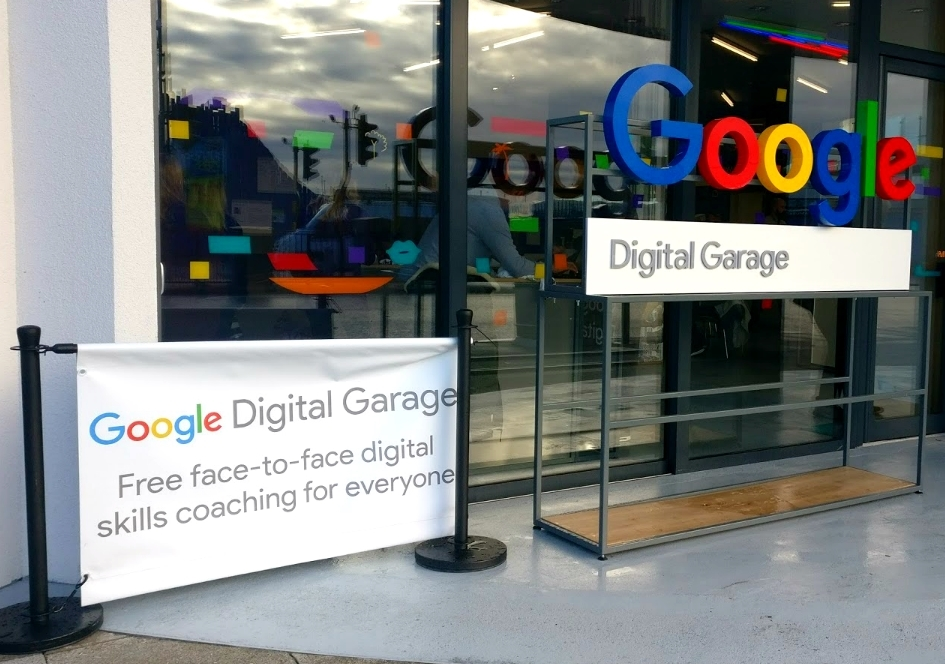 Google Digital Garage Southend Essex