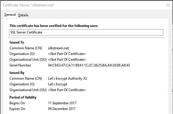 Pros & Cons of Let's Encrypt Free SSL Certificate - Silkstream