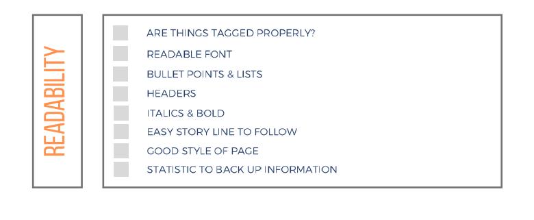 Checklist Part 2