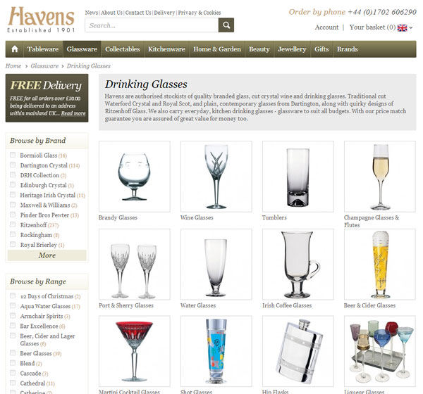 havens gift page
