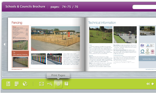 virtual brochure e catalogue examples silkstream