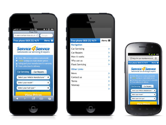 Mobile Website Service 4 Service